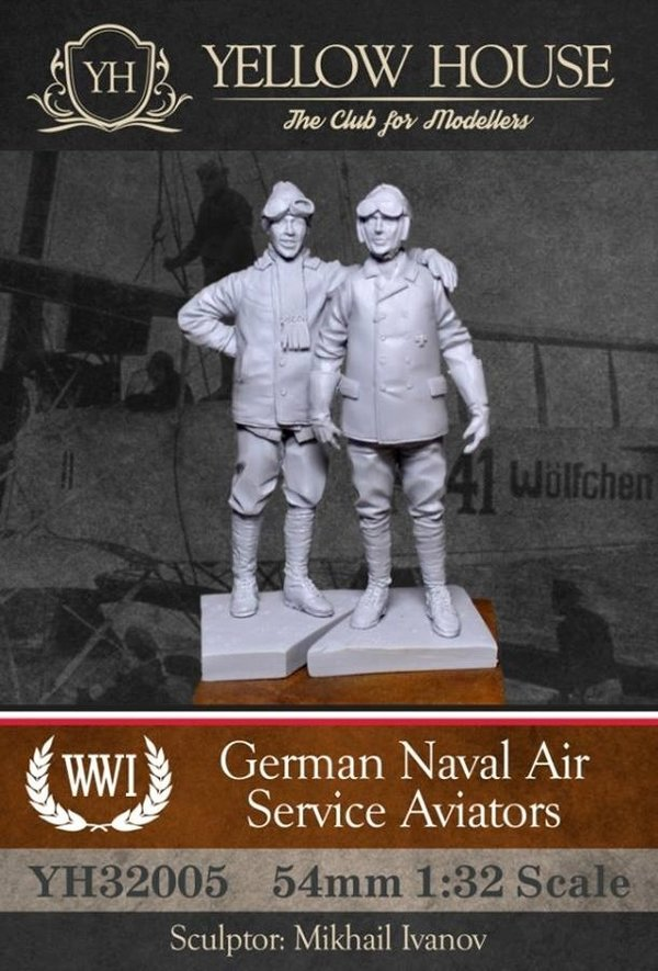 German Naval Air Service Aviators (2 Figuren)