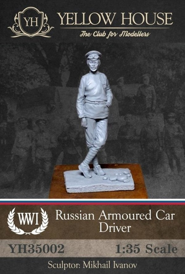 Russian Armoured Car Driver