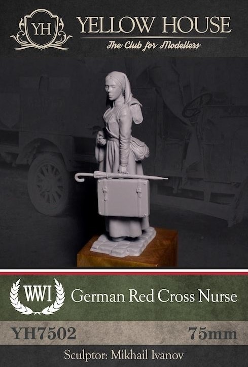 WWI German Red Cross Nurse