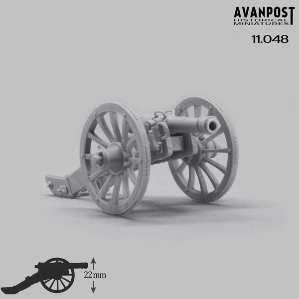 French 4-pdr cannon