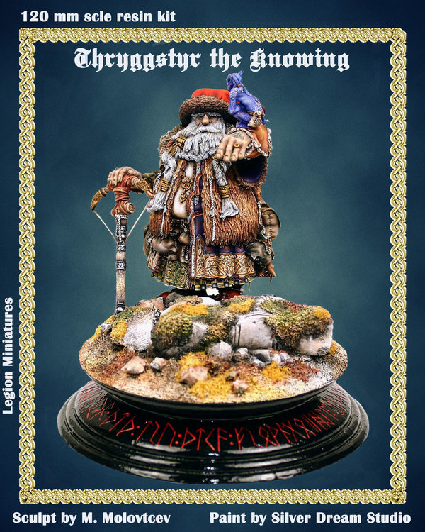 Thryggster The Knowing (Zwerg#4)